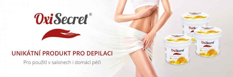 OxiSecret spickovy produkt pro depilaci
